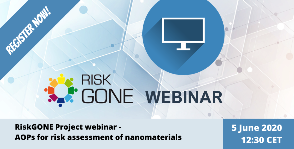 Webinar on nanotechnology risk-assessment method AOP – register now!